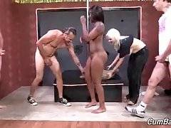 Ebony Nikki Ford Is Fucked And Facecummed 3